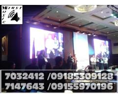 LED VIDEO WALL RENTAL MANILA STAGE LIGHTINS PRO AUDIO SYSTEM@7032412,7147643,09185309128